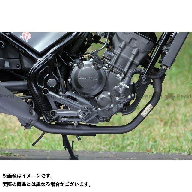 SP忠男 レブル250 POWER BOX PIPE 耐熱ブラック