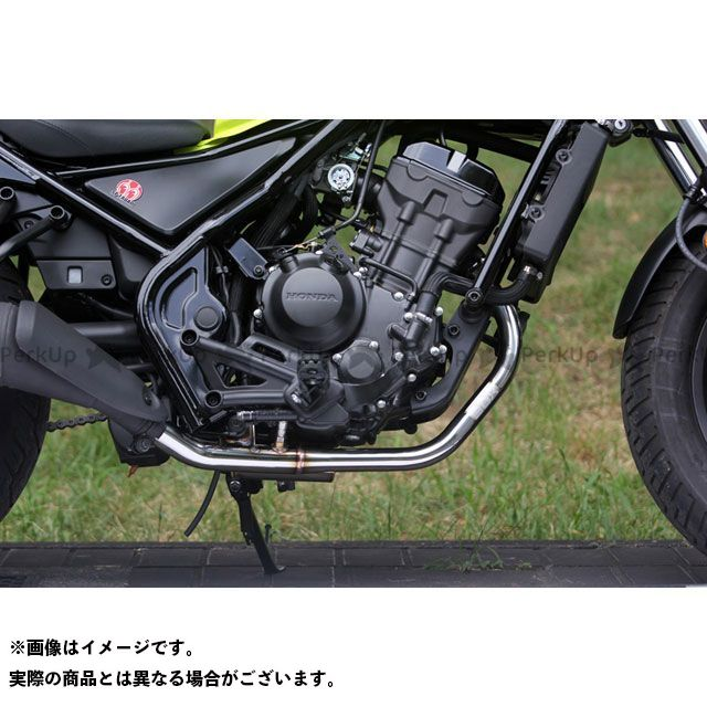 SP忠男 レブル250 POWER BOX PIPE SUS