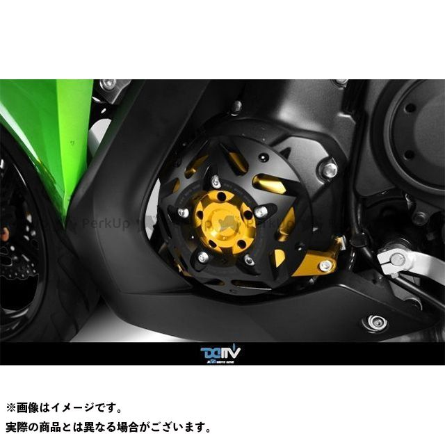 【エントリーで更にP5倍】ディモーティブ エンジンプロテクター ER6N ER6F 左 カラー:ブラック Dimotiv