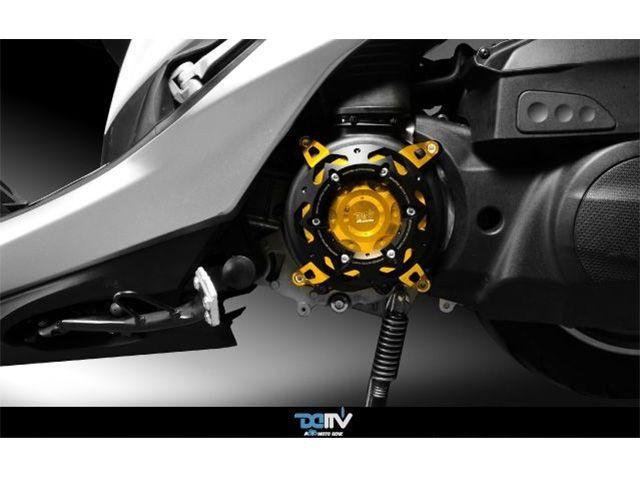 送料無料 ディモーティブ マジェスティS スライダー類 エンジンプロテクター SMAX レッド