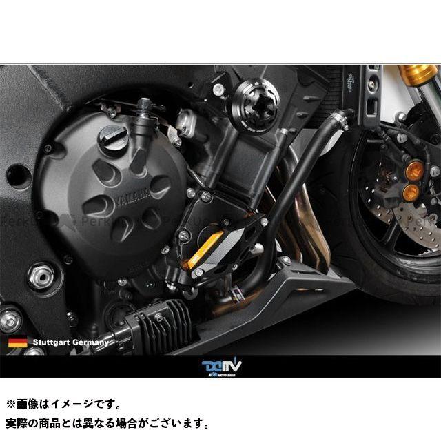送料無料 ディモーティブ FZ-1S FZ1(FZ1-N) FZ8 スライダー類 エンジンクラッシュパッド FZ1N 右 チタン