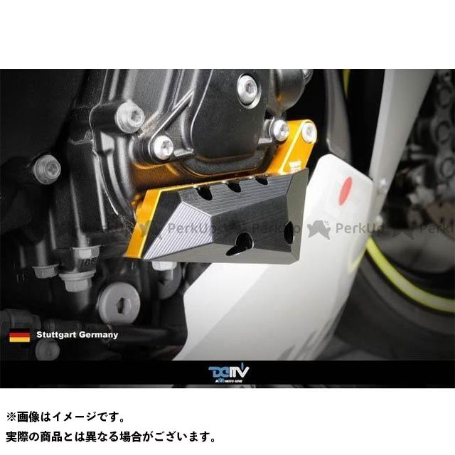 送料無料 ディモーティブ YZF-R1 スライダー類 エンジンクラッシュパッド YZF-R1右 チタン
