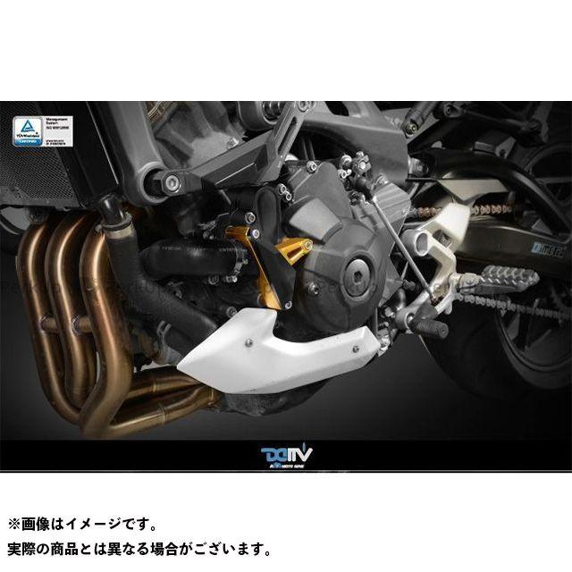 送料無料 ディモーティブ MT-09 トレーサー900・MT-09トレーサー XSR900 スライダー類 エンジンクラッシュパッド MT-09 左 ブラック