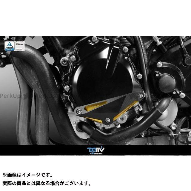 送料無料 ディモーティブ GSR600 GSR750 スライダー類 エンジンクラッシュパッド GSR600 GSR750左 ブラック