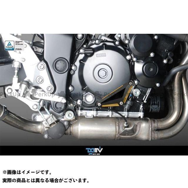 送料無料 ディモーティブ GSR600 GSR750 スライダー類 エンジンクラッシュパッド GSR600 GSR750右 ブラック