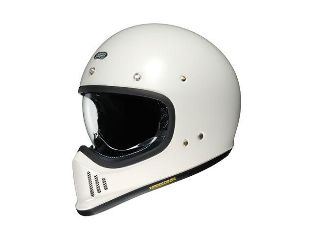 送料無料 SHOEI ショウエイ フルフェイスヘルメット EX-ZERO(イーエックス - ゼロ) オフホワイト 11月22日発売 XL/61cm