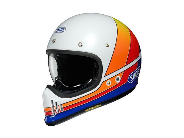 送料無料 SHOEI ショウエイ フルフェイスヘルメット EX-ZERO EQUATION(イーエックス - ゼロ イクエージョン) TC-2(BLUE/WHITE) 12月発売予定 XXL/63cm