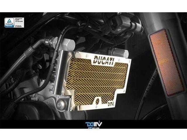 送料無料 ディモーティブ Dimotiv オイルクーラー関連パーツ オイルクーラーカバー Hypermotard 1100/1100s ブラック