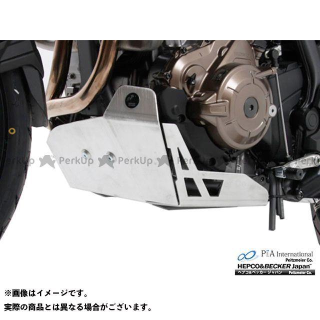 ヘプコアンドベッカー CRF1000Lアフリカツイン エンジンアンダーガード(シルバー) HEPCO&BECKER