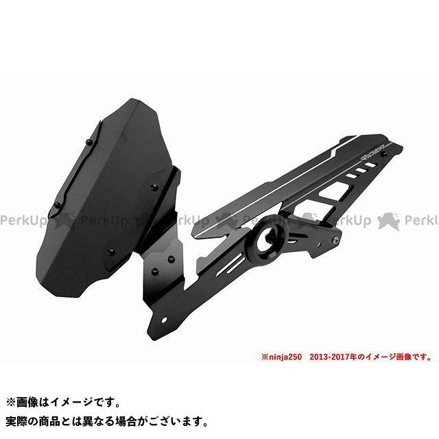 【特価品】リデア ニンジャ250 ニンジャ400 リアフェンダー(ブラック) RIDEA