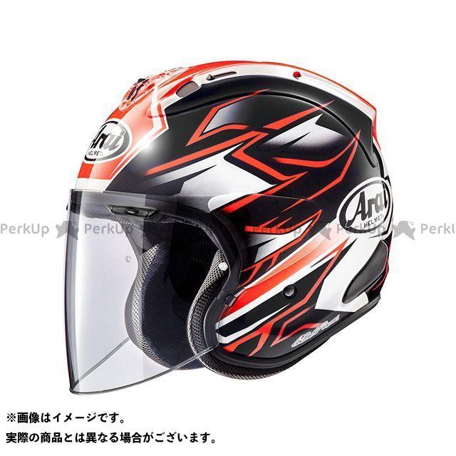 メーカー在庫あり アライ ヘルメット Arai VZ-Ram GHOST(VZ-ラム・ゴースト) レッド 55-56cm
