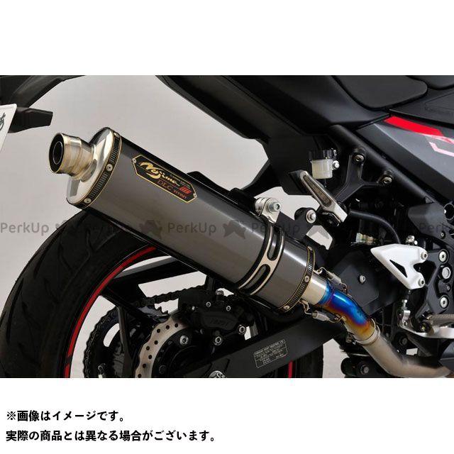 【エントリーで最大P21倍】ノジマ ニンジャ250 ニンジャ400 GTミドル スリップオン DLC-TIサイレンサー NOJIMA