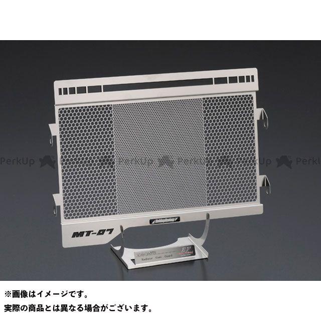 エッチングファクトリー MT-07 MT-07(14~18)用ラジエターガード 黄エンブレム ETCHING FACTORY