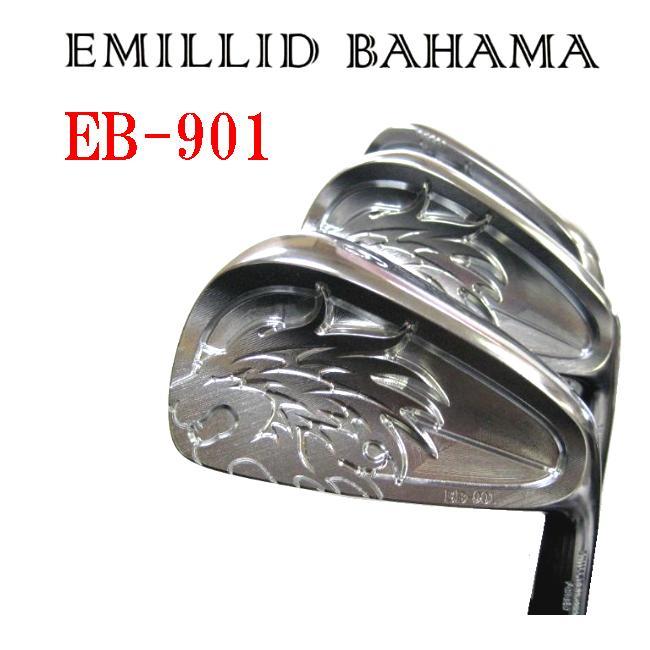 エミリッドバハマ アイアン[EB-901]5~P アイアンヘッド単体 6個セット