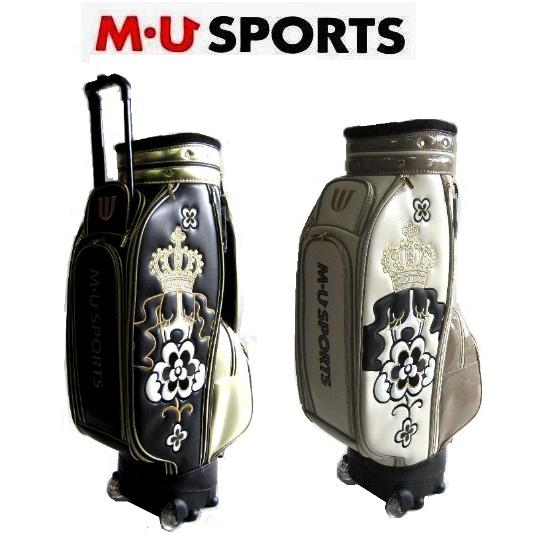M・U SPORTS キャディバッグ 703R7100SレディースゴルフBAG ローリングソール仕様