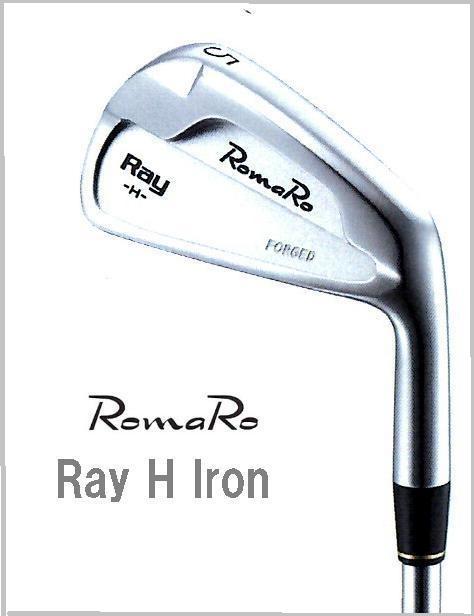 Romaro★ロマロ 2016 【Ray H Iron 】スチールアイアン(#3/#4) NS 950GH/DG S200