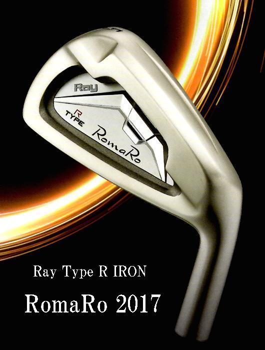 ロマロ Ray Type R IRON アイアン[スチール]レイタイプR5番~PW 6本セット(NS950/DGS200)