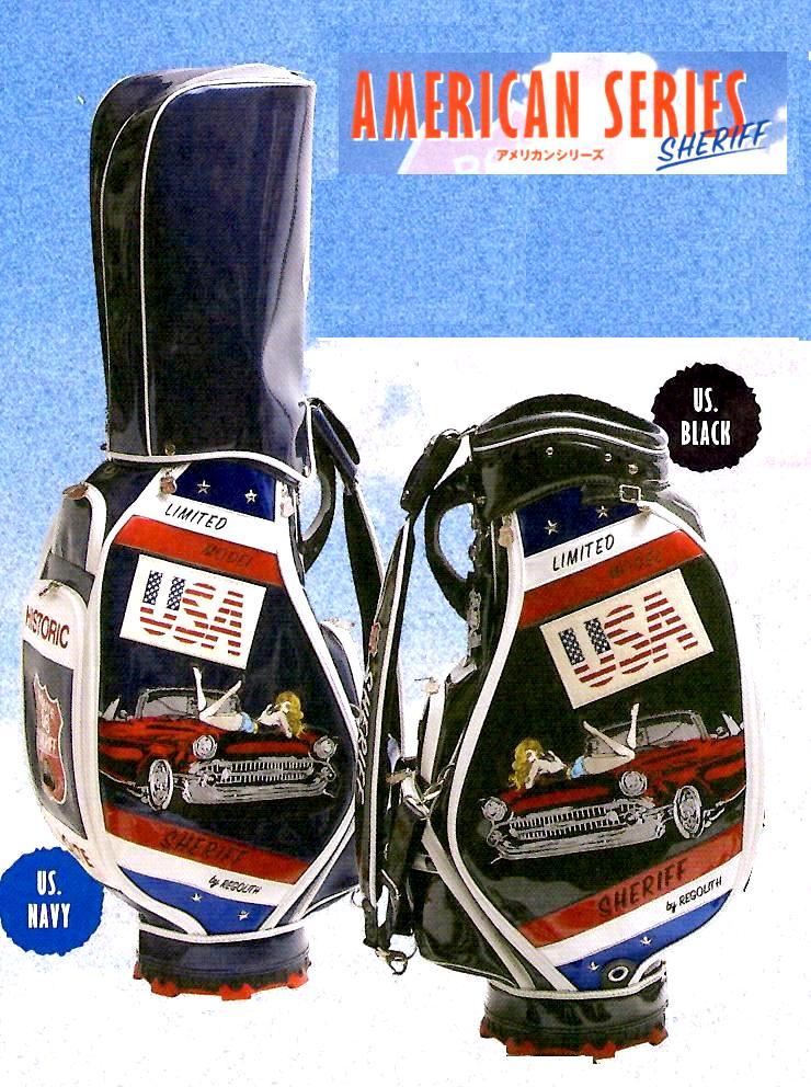 SHERIFF シェリフ アメリカンシリーズ 3点式キャディバッグ SFA-008 2018年モデル【限定65本】