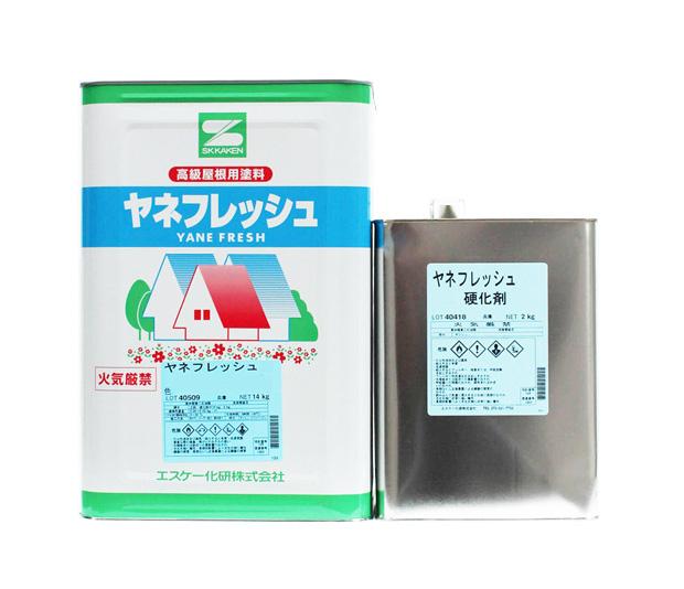 エスケー化研 ヤネフレッシュ ツヤ有 標準色 16Kセット