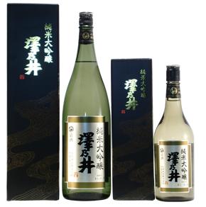 東京の日本酒 小澤酒造 澤乃井 純米大吟醸 1.8L