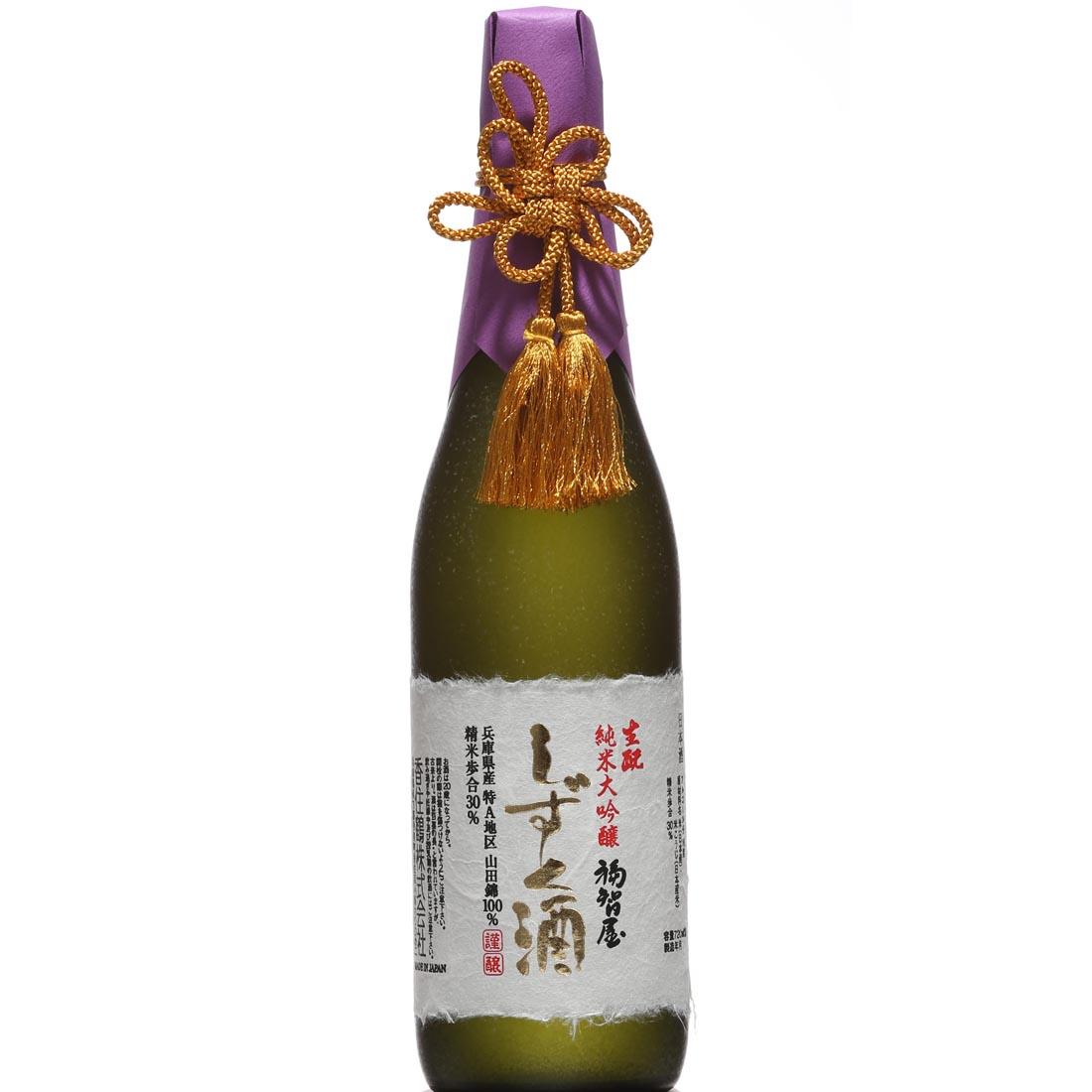 香住鶴 生もと 純米大吟醸 福智屋 しずく酒 720ml 送料無料 但馬 兵庫 日本酒 四合瓶