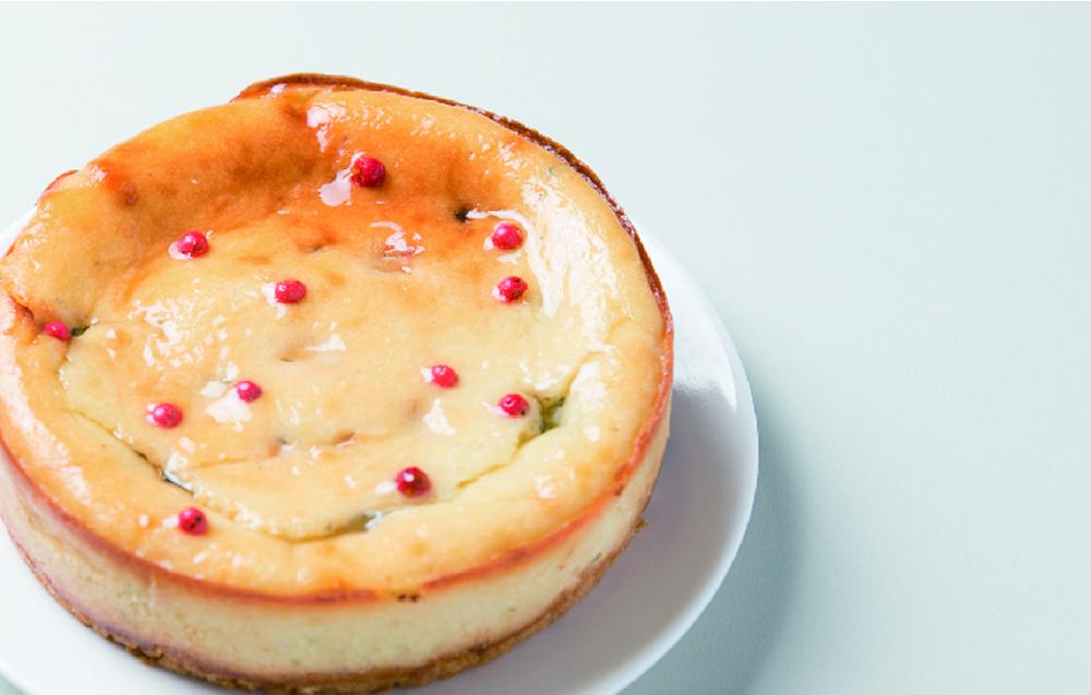 お取り寄せ(楽天) ゴルゴンゾーラの チーズケーキ 4号 辛口タイプ 香のか 価格2,400円(税込)