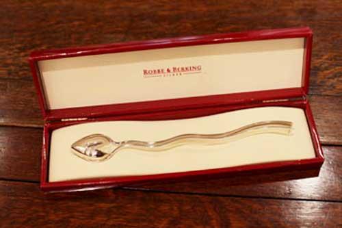 Robbe&Berking LOVEスプーン ABセット 銀製品 ドイツ製 シルバー R&B ロべ&バーキング クリスマスギフト 銀食器