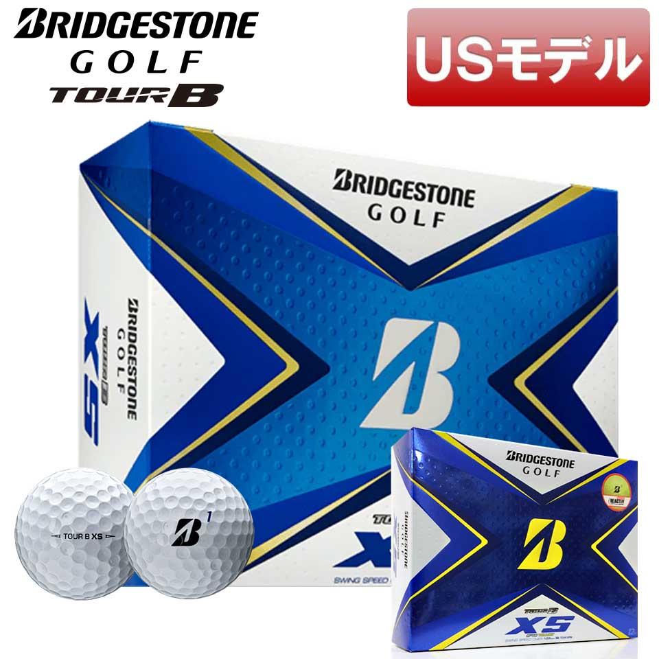 スタイル性と機能性を両立 USモデル ブリヂストン TOUR 国内在庫 B XS ゴルフボール BRIDGESTONE あす楽対応 お洒落 新品 即納 12球入り GOLF