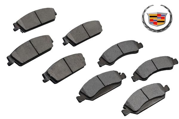 ブレーキパッドフロント リアSET 保証付 在庫あり 【適合車】08-14y キャデラック エスカレード (ESV EXTも可) E171