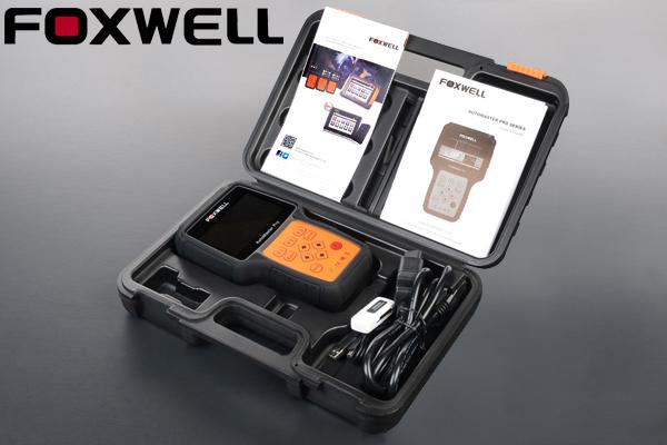 ★在庫あり 自動OBD2診断ツール Foxwell NT624 日本語対応 【検 オールシステムスキャンツール エンジン ABS SRS HVAC ミッション G175