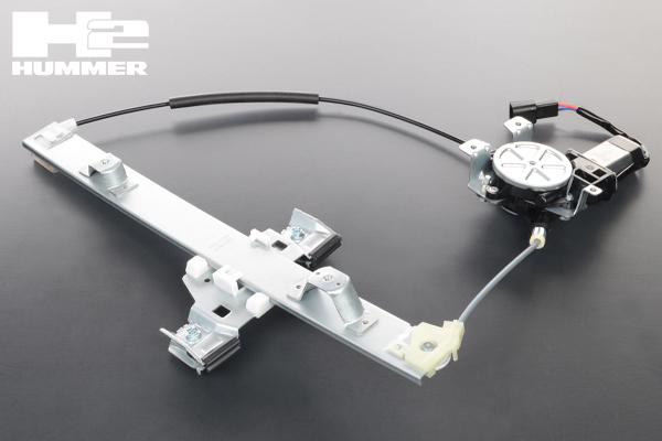 パワー ウィンドウ レギュレーター モーター付 後右 保証付 在庫あり 【適合車】03-09y ハマー H2 HM85