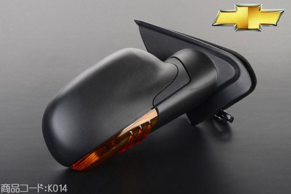 ドアミラー ヒーター付 右 電動格納 保証付 在庫あり 【適合車】02-09y シボレー トレイルブレイザー GMCエンボイ K014