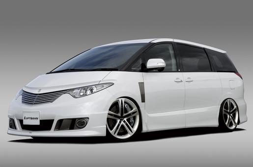 BALSARINI ESTIMA エスティマ 50系 1型 全車対応 フロントフェンダーダクト ガンメタリック塗装済