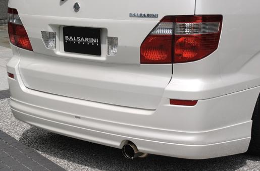 BALSARINI ALPHARD アルファード 10系 MC前 全車対応 リアガーニッシュ 未塗装