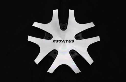 ESTATUS Style-RT67(エステイタス スタイル-RT67)LongLegプレート【ガンメタリックポリッシュ】ビス、レンチセット含む