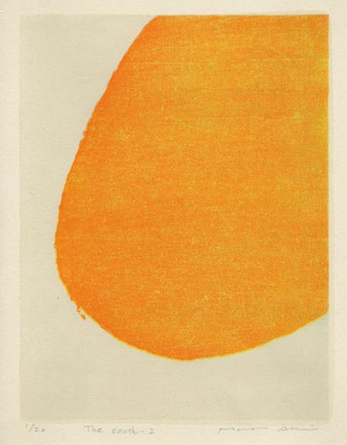 絵画 版画(銅版画・リトグラフ・木版画・シルクスクリーン版画) レリーフ オブジェ 書など、現代アートの専門サイト 版画/木版画 安芸真奈 The south-2
