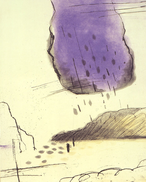 版画/銅版画 原陽子 島
