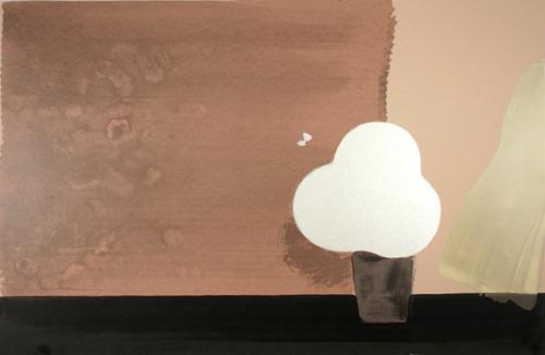 絵画 版画(銅版画・リトグラフ・木版画・シルクスクリーン版画) レリーフ オブジェ 書など、現代アートの専門サイト 版画/シルクスクリ-ン 福本吉秀 Fresh Breeze