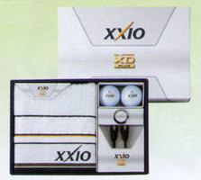 Dunlop XXIO ゼクシオスーパー XD plus (premium white) ball gift GGF-F2055 golf house is a person house