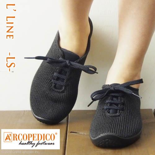 アルコペディコ ARCOPEDICO-LS- LSニットスニーカー レディース