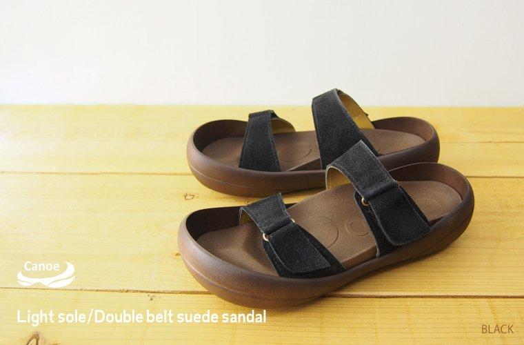 / リゲッタ /fs3gm made in Canoe canoe sandals light sole suede double belt /light/ men / Arizona /CL503/ Japan
