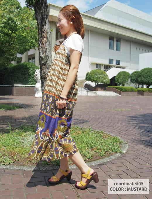 RegettaCanoe canoubananaheel-Python pattern harnesses Sandals /CJBN-5708 / made in Japan / regatta