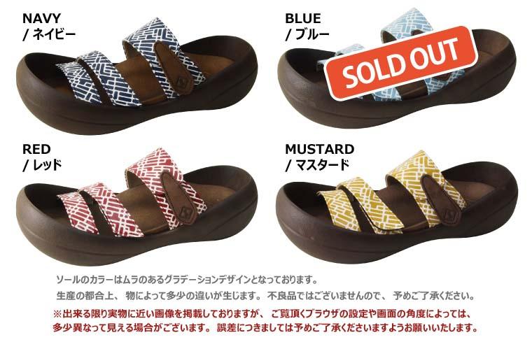 RegettaCanoe / 大灵魂 / 会标三带凉鞋/女士 / 在日本 /CJBF5147 / 独木舟帆船赛和大脚