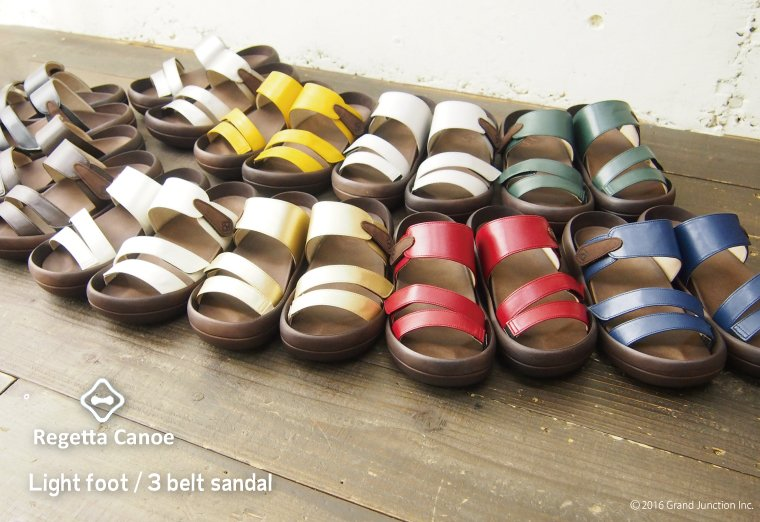 Canoe canoe sandals and ライトソール standard 2013 / light / men 's/women's / made in Japan /CL0003 / regatta