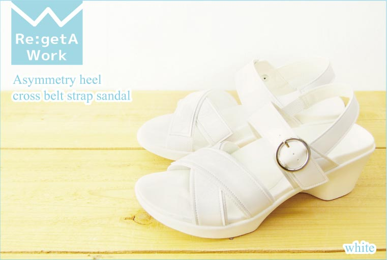 帆船赛凉鞋凉鞋吊带 / RW0003 / 不对称她 / RegetaWork Regeta / righettawork 护士凉鞋 gmisandal / 妇女 / 日本 / 经销商