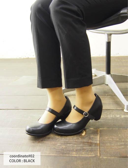 帆船賽泵帶 / RW0012 / 5 釐米鞋跟 / RegetaWork Regeta / righettawork 辦公室鞋 / 婦女 / 日本 / 轉銷商