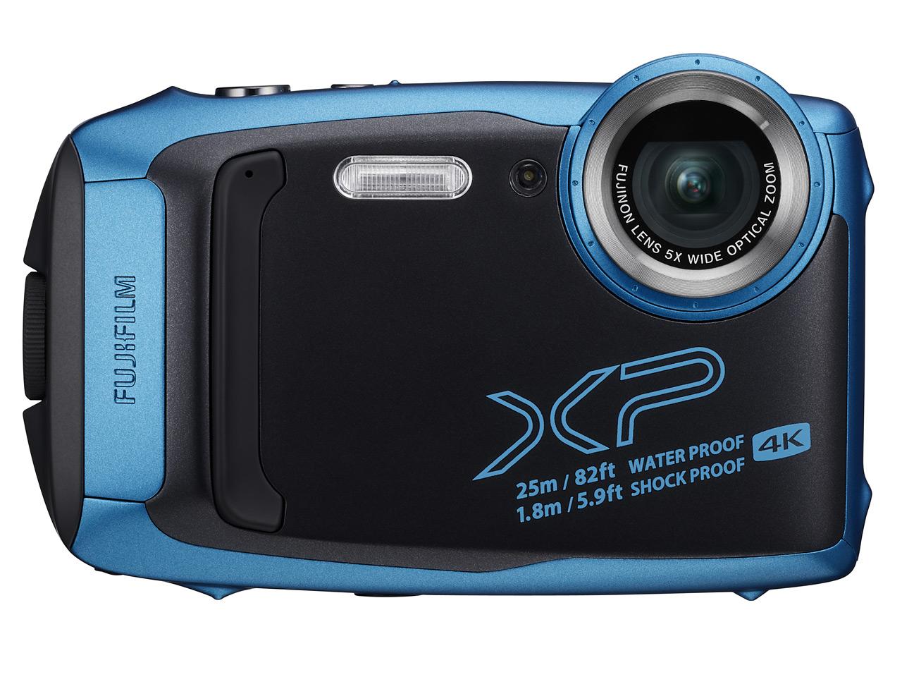 新品 FUJIFILM FinePix XP140 スカイブルー 有効画素数 1635万画素 防水 光学ズーム5倍 在庫有り フジ