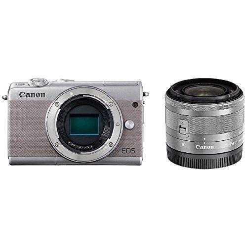 【★安心の定価販売★】 Canon Canon キヤノン EOS レンズキット M100 EF-M15-45 IS STM レンズキット M100 [グレー]【お取り寄せ品】, U&JMac's:cf0aafa6 --- promilahcn.com