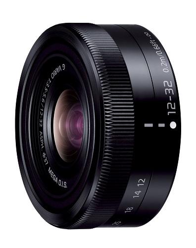 展示品 Panasonic LUMIX G VARIO 12-32mm F3.5-5.6 ASPH./MEGA O.I.S. H-FS12032-K [ブラック] パナソニック