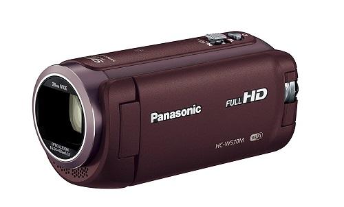 展示品 Panasonic パナソニック HC-W570M-T [ブラウン] メーカー保証1年付